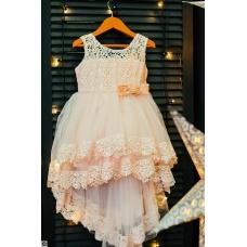 """Платье """"Розовый зефир"""", от 2 до 6 лет"""
