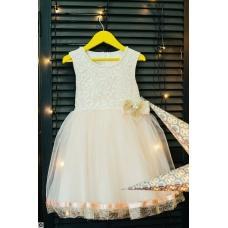 """Платье """"Крем-брюле"""", от 1 года до 6 лет"""