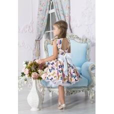 """Платье """"Бабочки"""" , от 4 до 6 лет"""