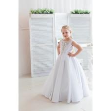 Платье бальное Снежное кружево