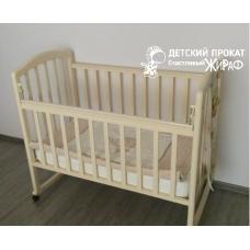 """Кроватка деревянная """"Береза"""""""