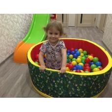 Сухой бассейн с шариками Зоопарк №2