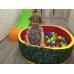 Сухой бассейн с шариками Зоопарк