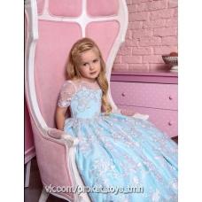 Платье бальное Снежная королева
